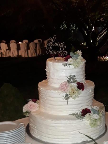 torta a piani matrimonio