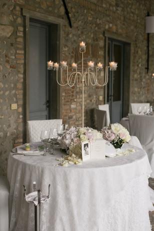 allestimento matrimonio in villa