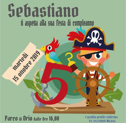 invito compleanno pirati