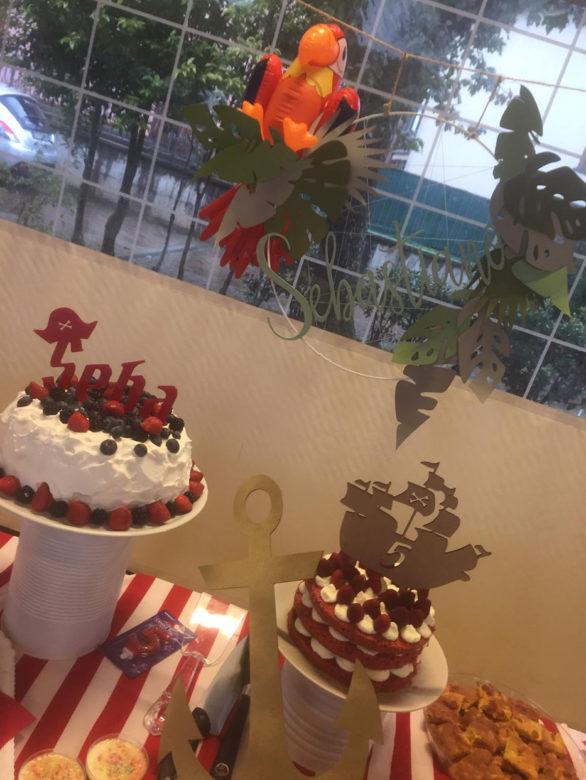 cake topper pirati