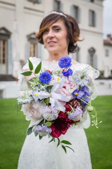 bouquet fiori azzurri