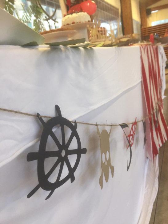decorazioni festa pirati
