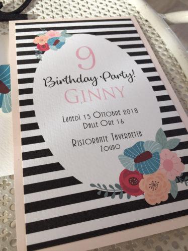 invito compleanno