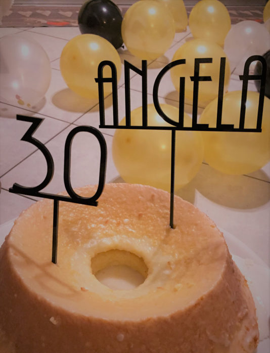 cake topper 30