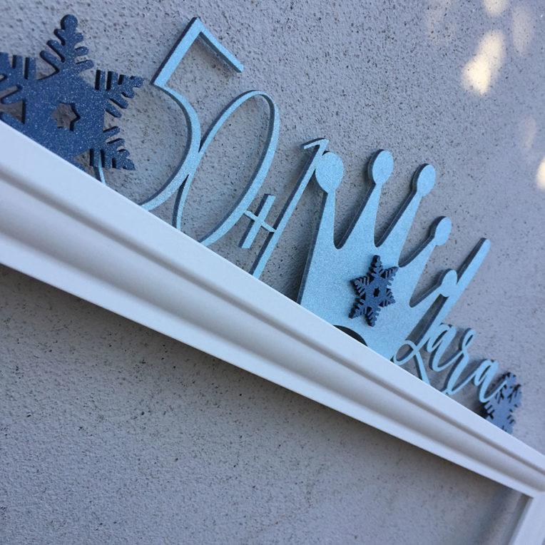 decorazioni tema ghiaccio