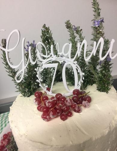 cake topper 70